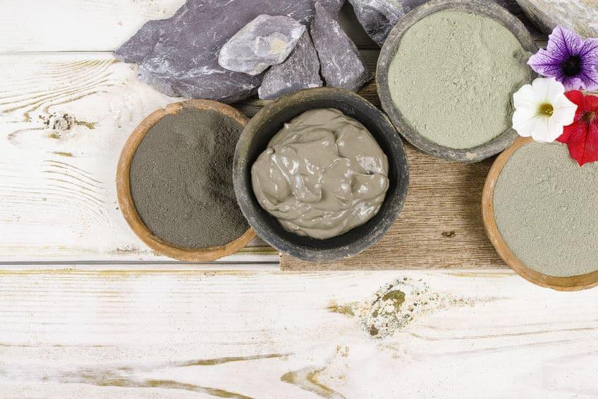 Imagem de produtos esfoliantes.