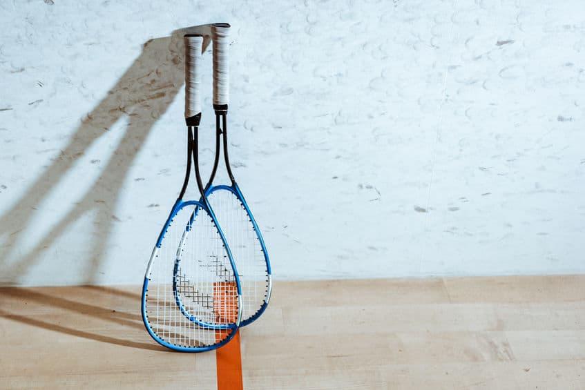 Imagem de raquetes.