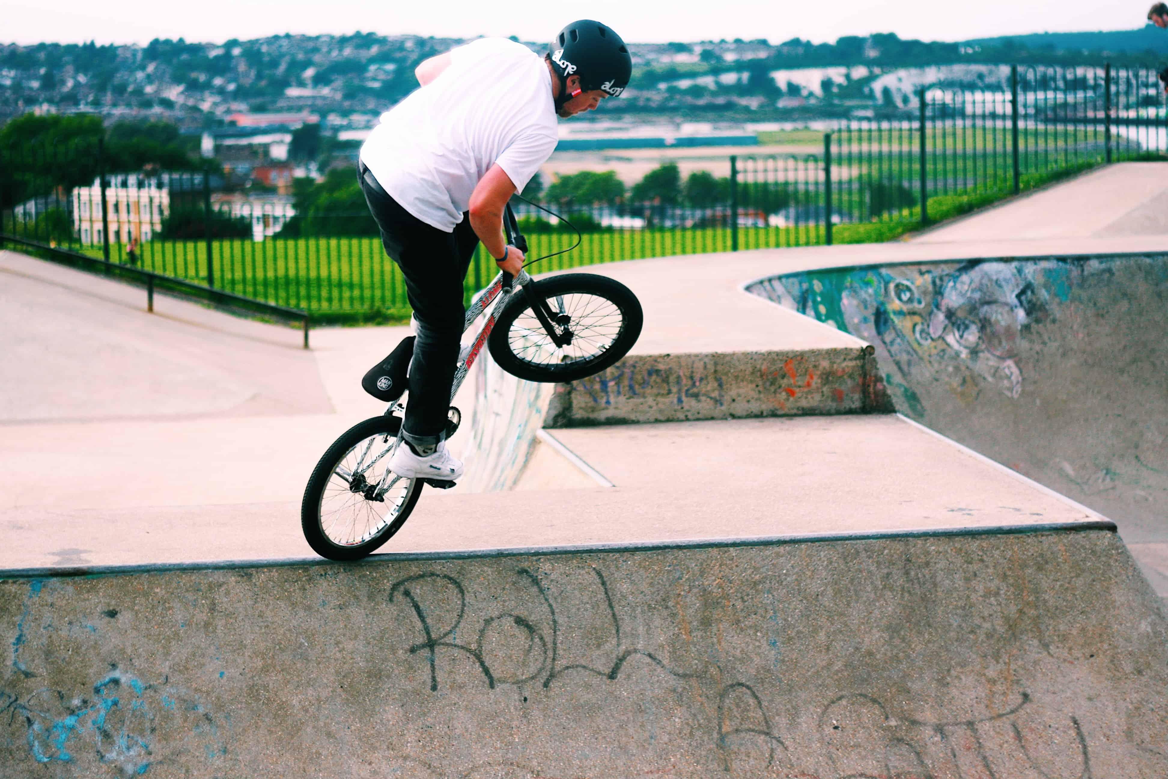 Imagem de bicicleta BMX.