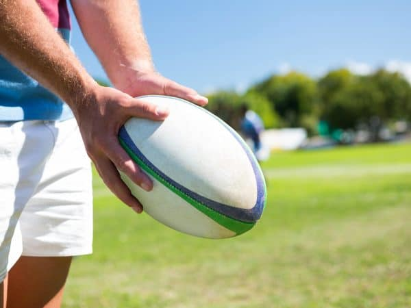 Bola rugby.