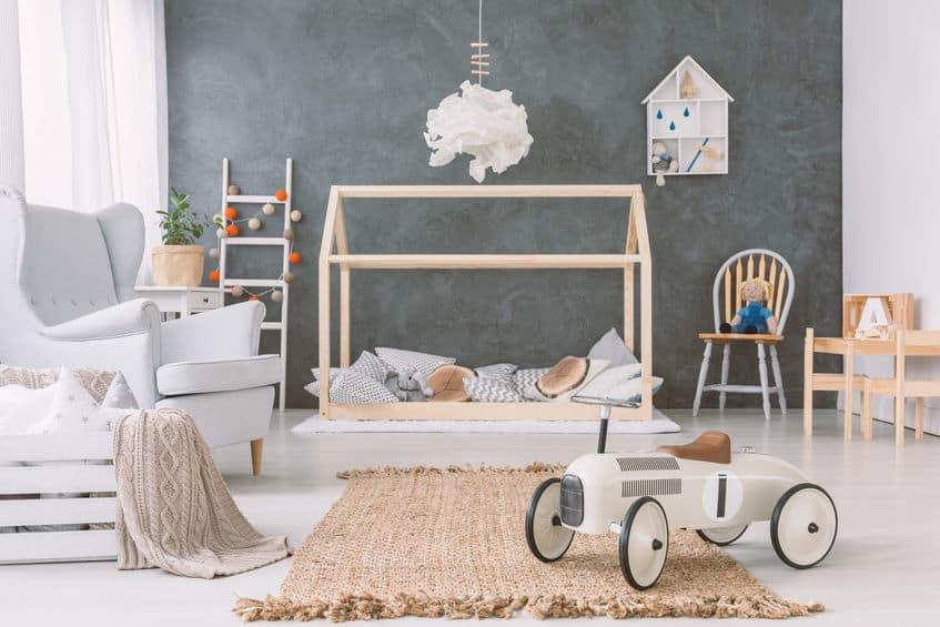 Imagem de quarto infantil.