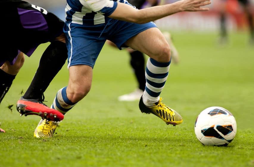 Imagem de jogadores de futebol.