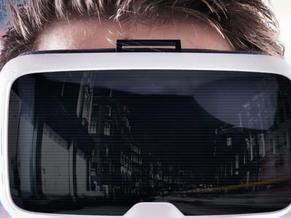 Imagem destaca óculos de realidade virtual