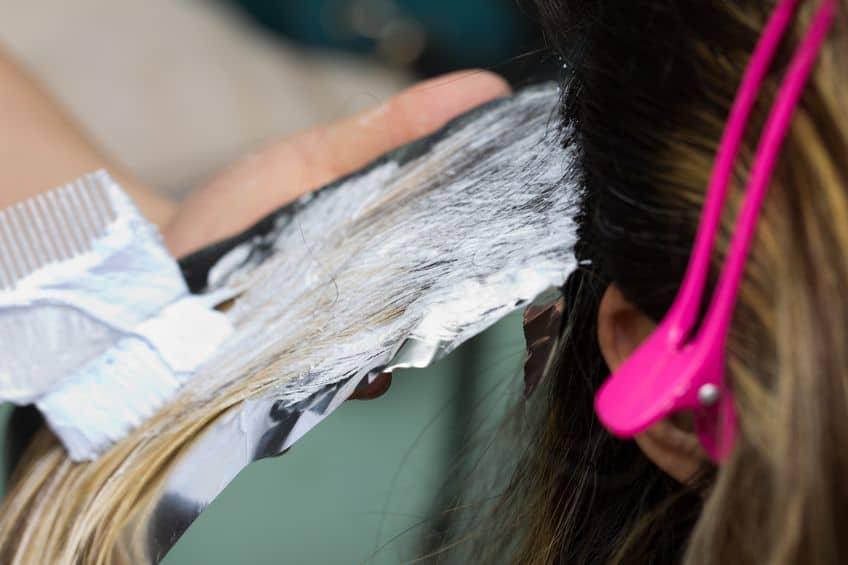 Tingir o cabelo