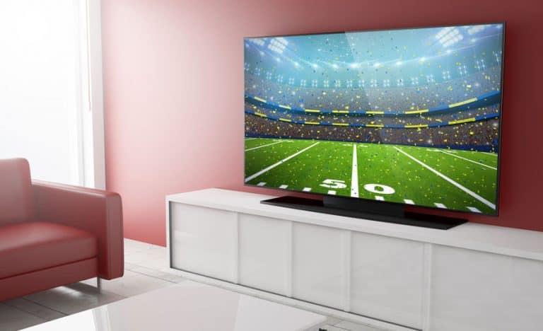 Imagen del juego en TV.