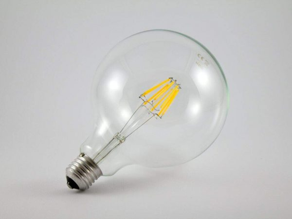 Imagem de lâmpada LED.