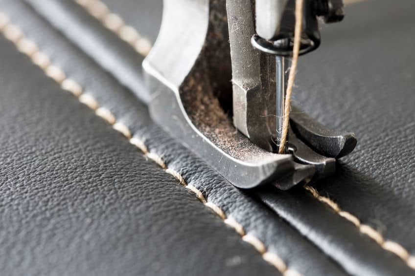 Imagem de costura com máquina.