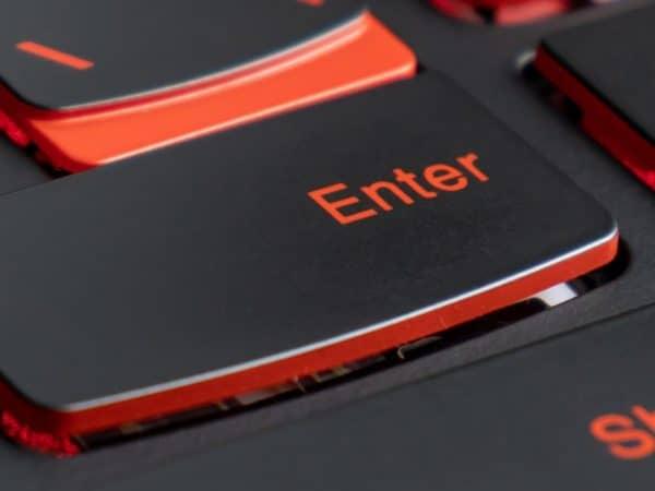 Imagem de teclado gamer.