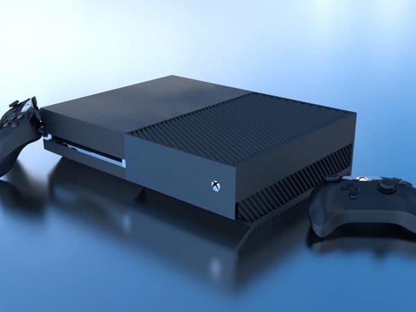 Imagem de console de xbox.