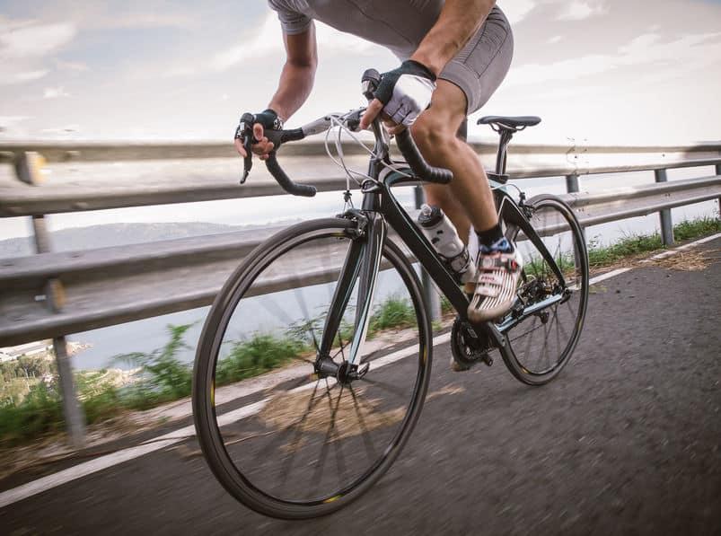 Imagem de ciclista.