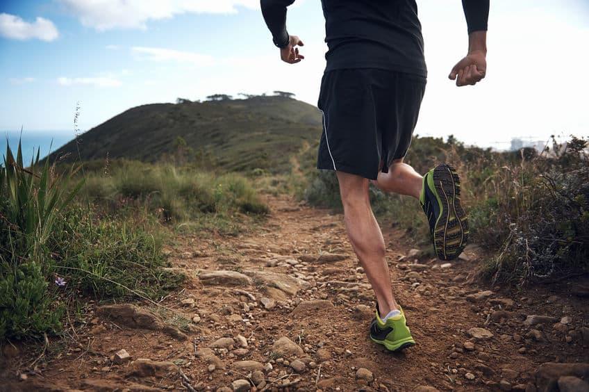 Imagem de homem correndo.