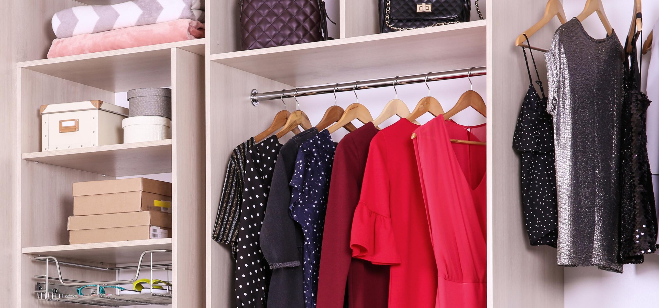 guarda-roupa das mulheres