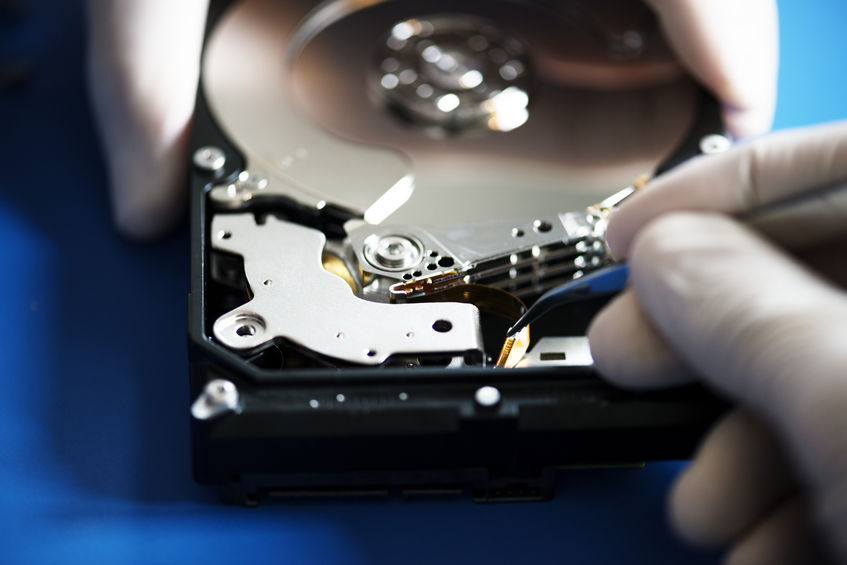 fixing a HDD
