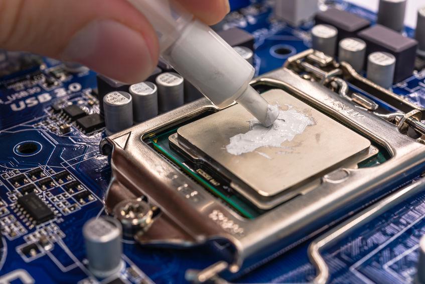 pasta térmica na CPU