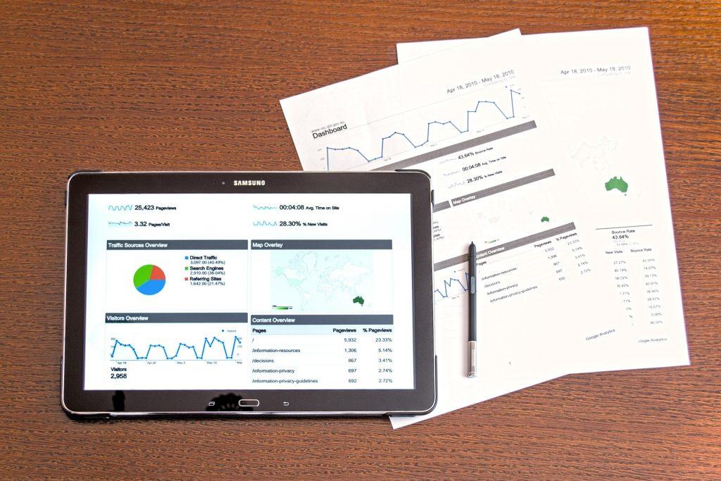 gráficos no tablet