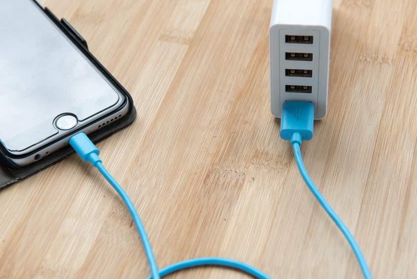 telefone conectado