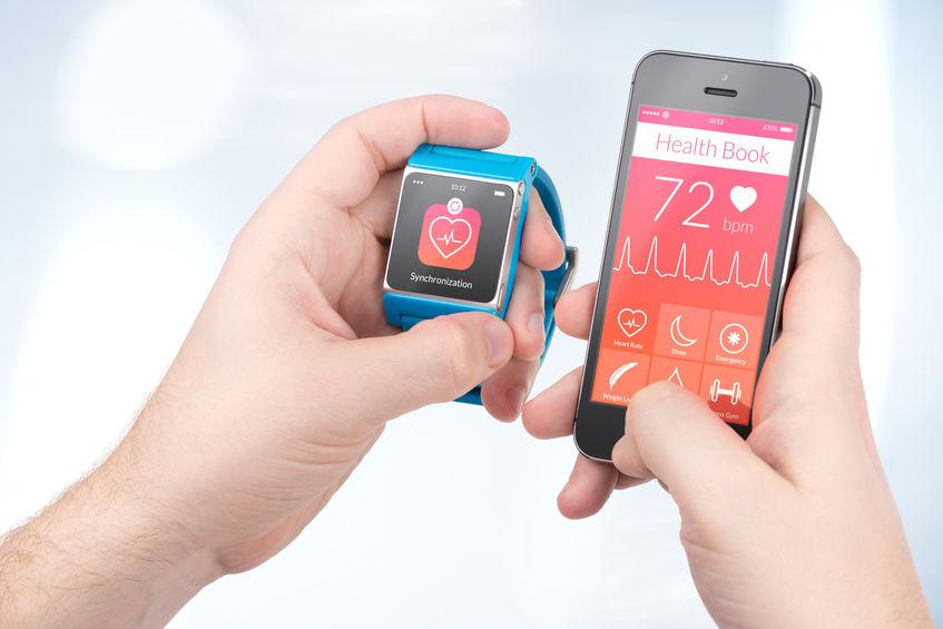 sincronizando relógio com telefone celular