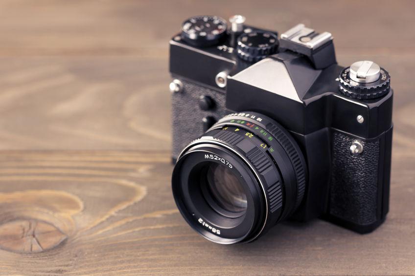 câmera vintage canon