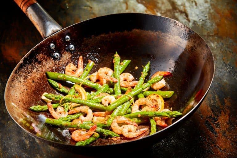 wok with shrimp