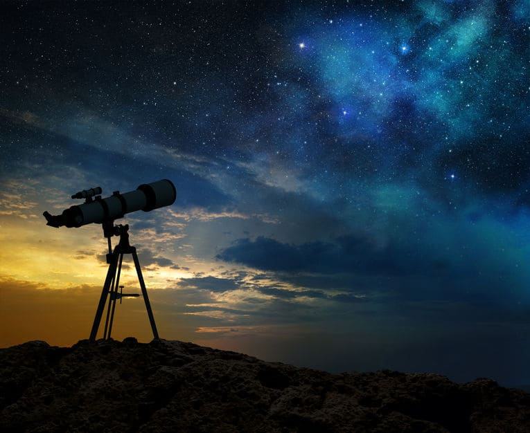 telescope on earth