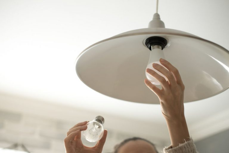 installing a smart light bulb