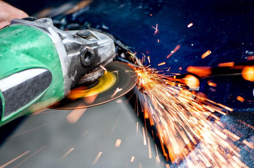 green battery grinder