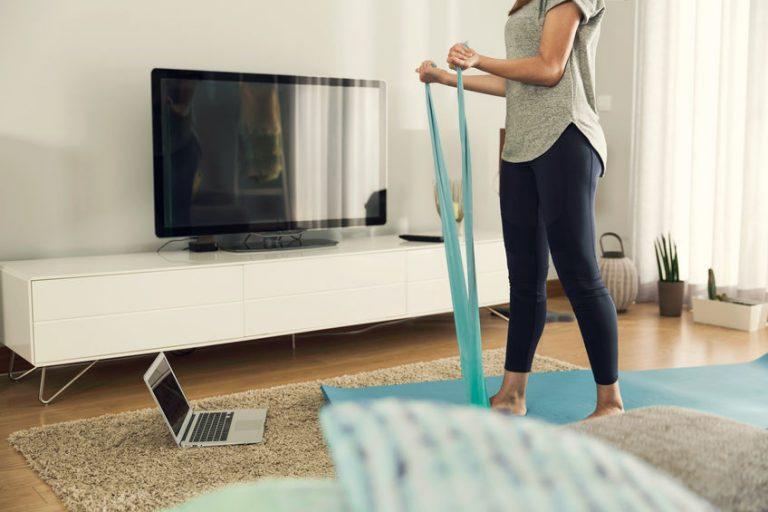 Persona haciendo ejercicio