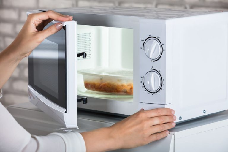 baking on a microwave
