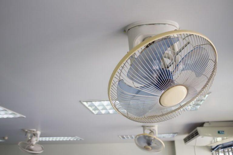 fan on the roof