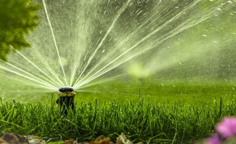 irrigador de jardim