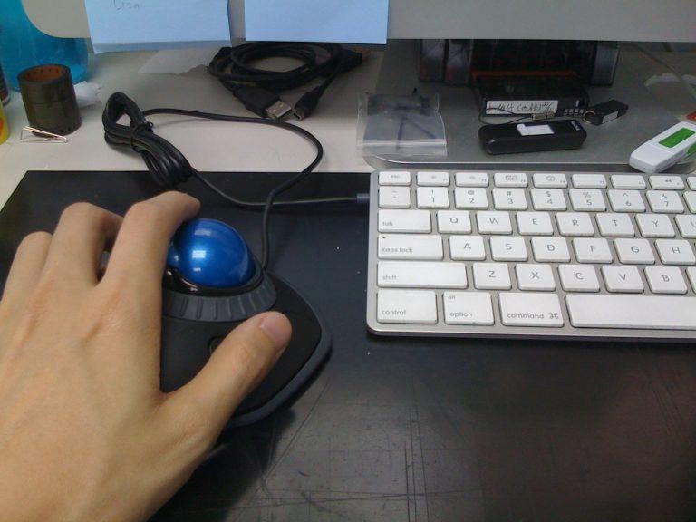 blue trackball