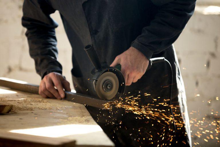 grinding steel bar