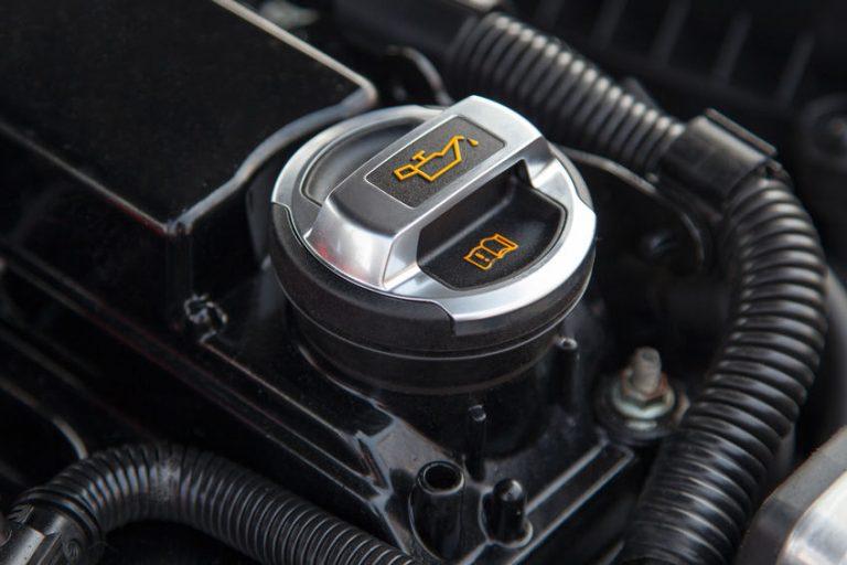 car oil deposit