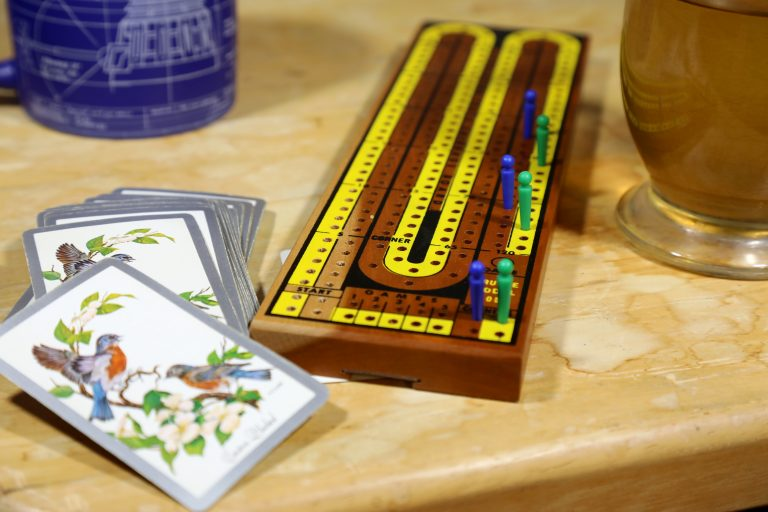 wood board game