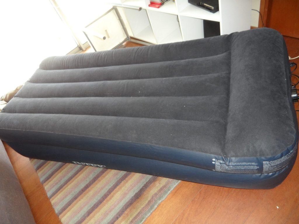 mattress ona a living