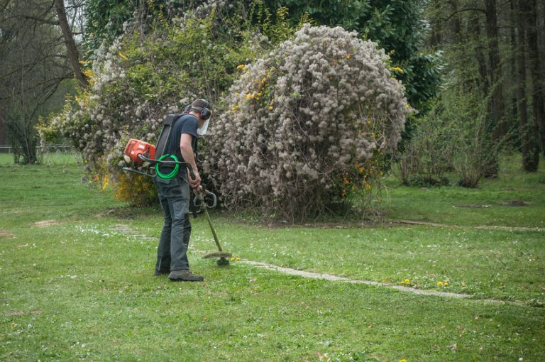 gardener working