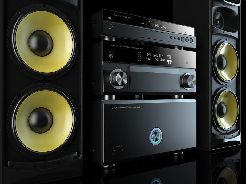 bass music system