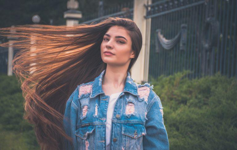 long brown hair girl