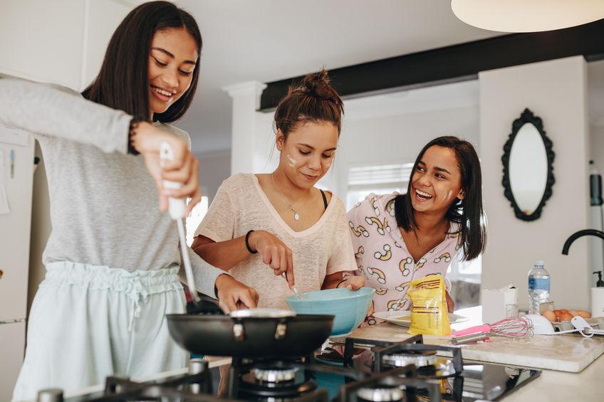 amigos de cozinha