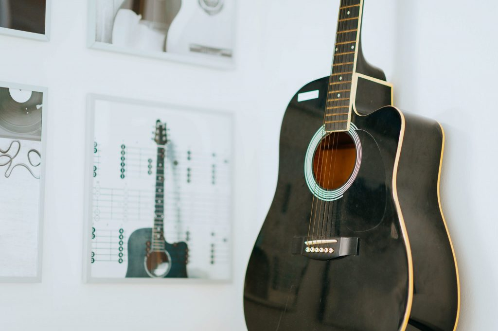 Electroacoustic Studio Guitar