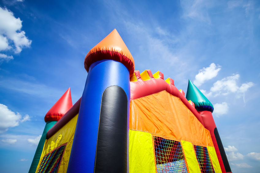 Inflatable Jumpy House Picture