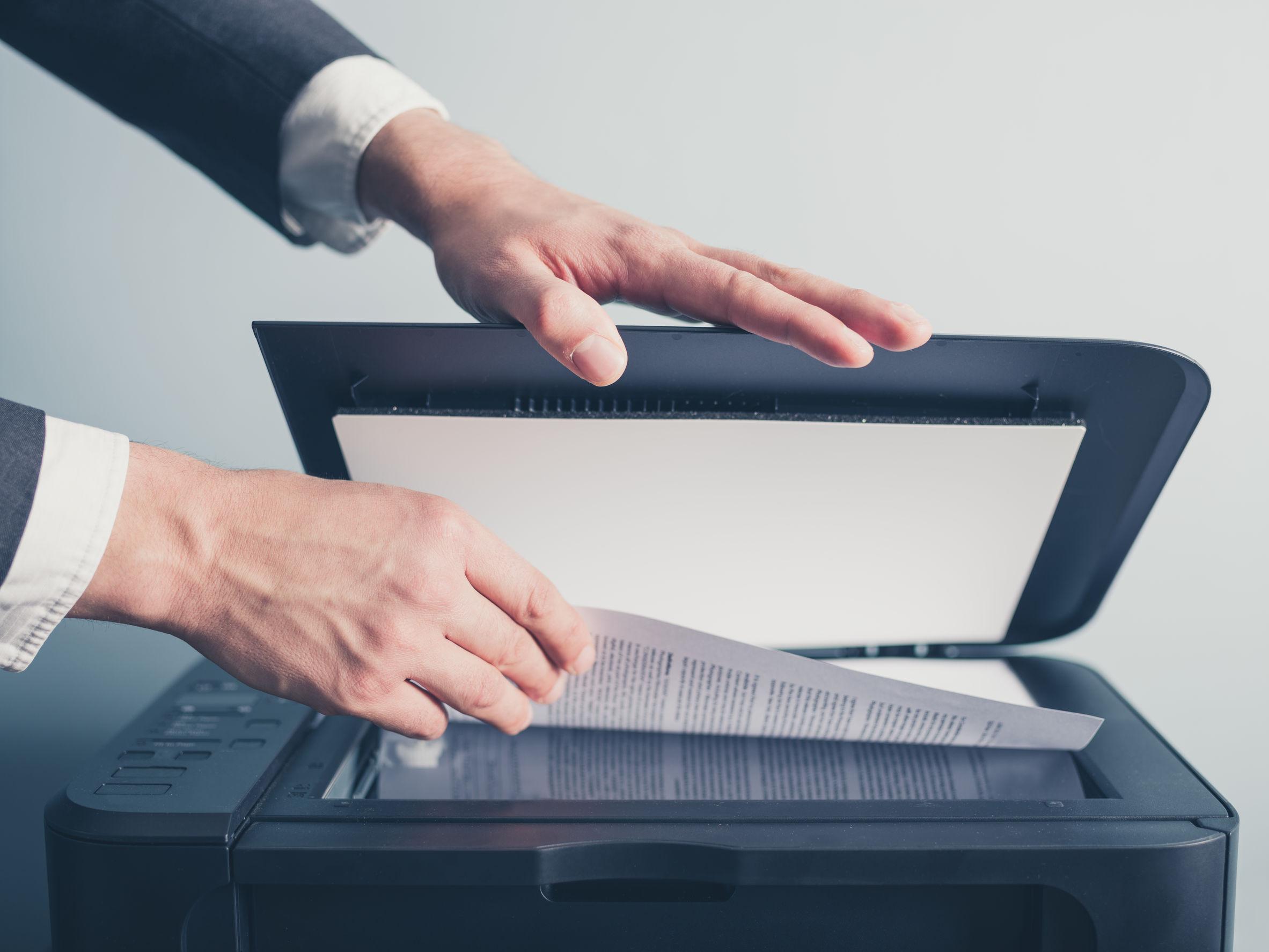 Scanner de documentos
