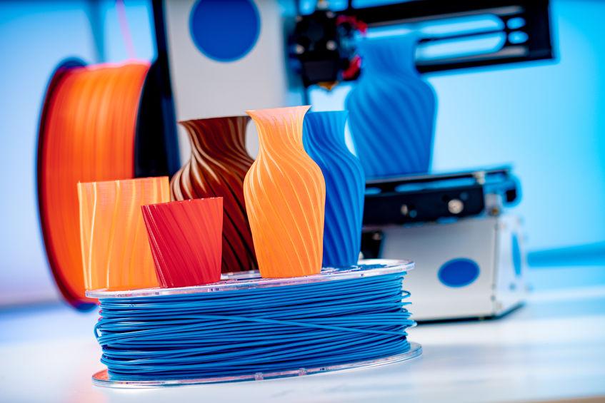 vasos de impressão em 3d