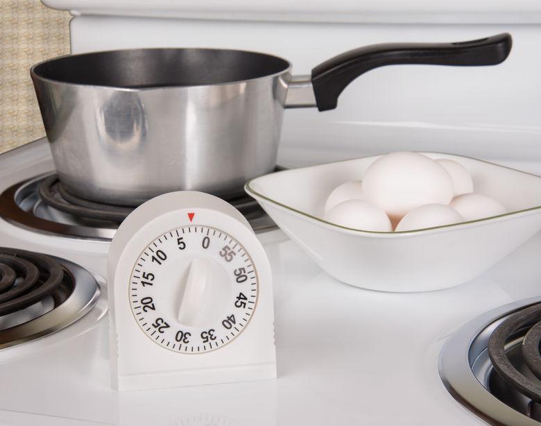 cronômetro na cozinha
