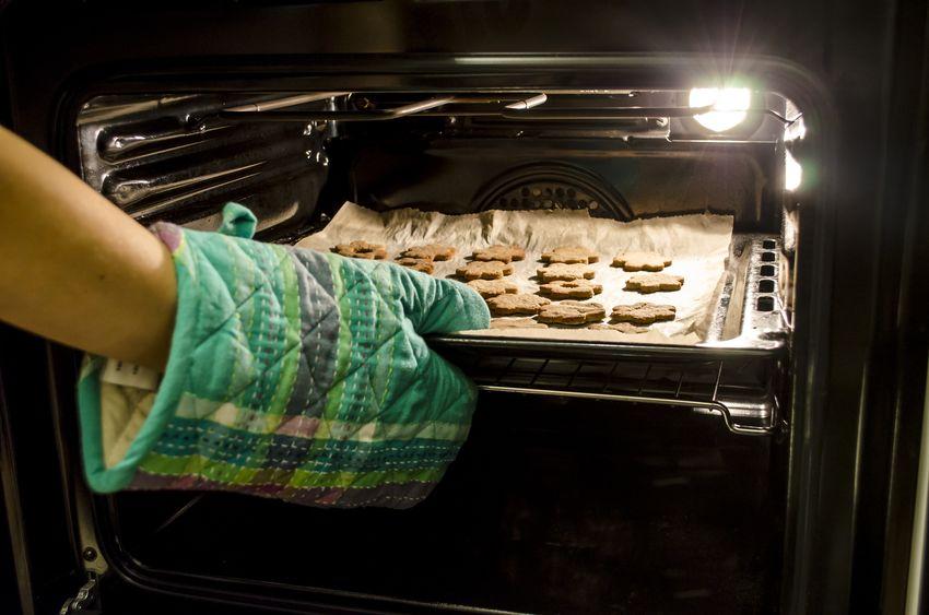 cozinhando no forno