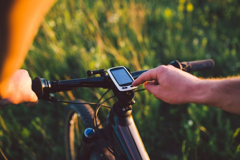 calculando calorias de bicicleta