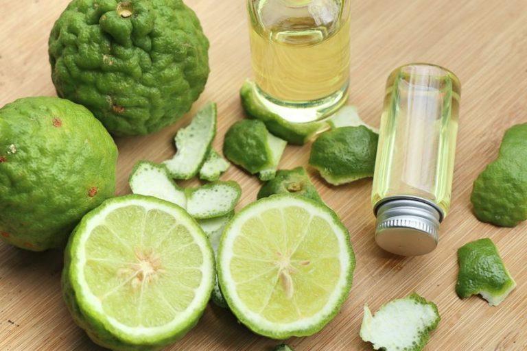 óleo de bergamota e frutas