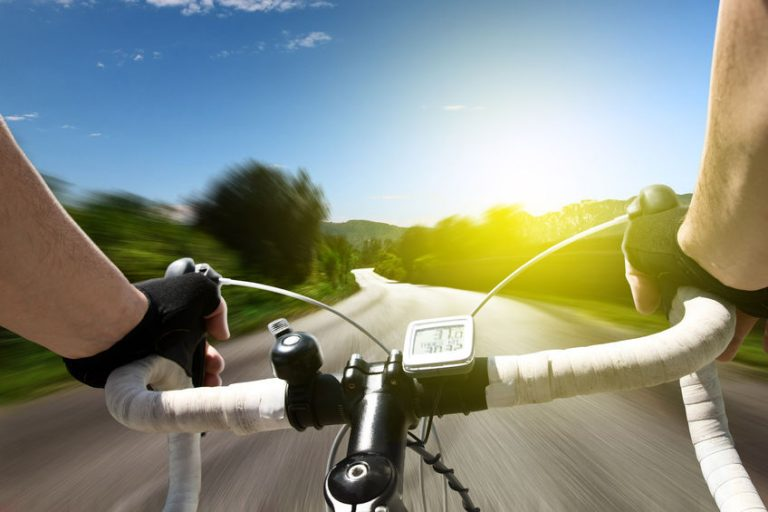bicicleta de alta velocidade