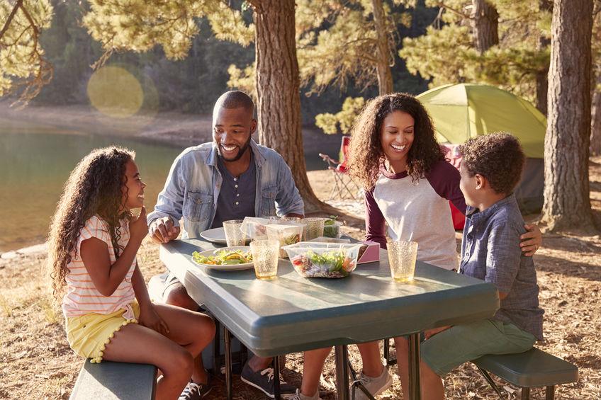 mesa para camping