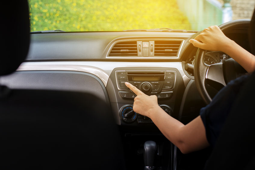 CD player automotivo